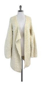 Lauren Manoogian Cream Alpaca Blend Sweater Coat