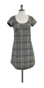 Marc Jacobs short dress Black & Cream Wool Short Sleeve on Tradesy