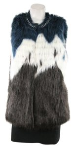Guess Faux Fur Sleeveless Vest