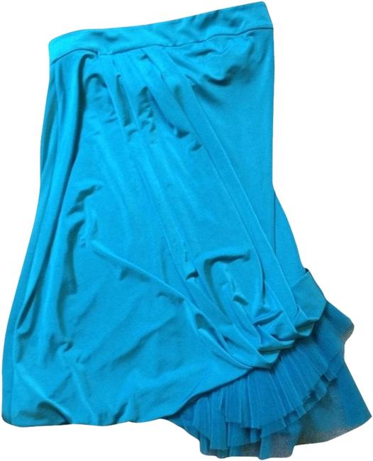 Preload https://item1.tradesy.com/images/bebe-turquoise-mini-night-out-dress-size-2-xs-2017225-0-0.jpg?width=400&height=650