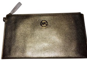 MICHAEL Michael Kors Gold Clutch