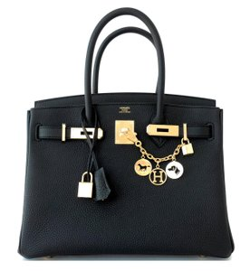 Hermès Birkin Satchel in Black
