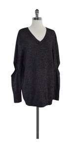 Preen by Thornton Bregazzi Metallic Black Sweater