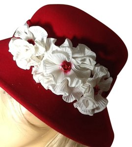 Nine West Floral Wool Hat