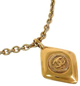 Chanel Chanel Gold Tone Necklace
