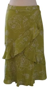 MICHAEL Michael Kors Skirt Lime green and white