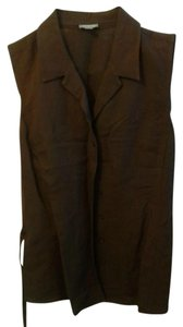 Ann Taylor Brown Size 8 Medium Top Cocoa Brown