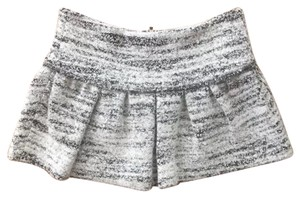 Isabel Marant Mini Skirt Black and White