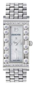 Swarovski Swarovski Lovely Crystals Square WATCH Silver 5096684 New Ladies'
