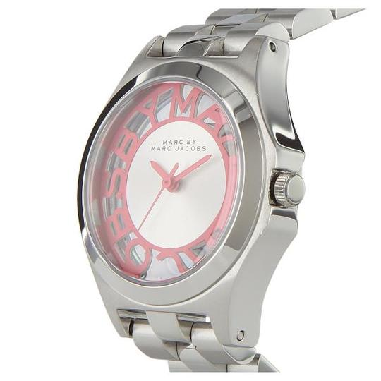 Marc Jacobs Marc Jacobs MBM3294 Woman's Silver Analog Watch With Silver Dial