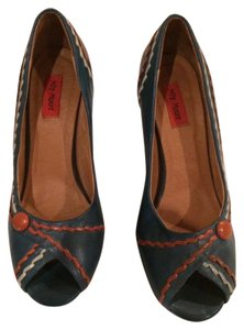 Miz Mooz Blue/Multi Pumps