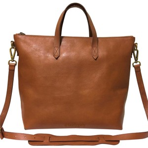 Madewell Satchel in English Saddle