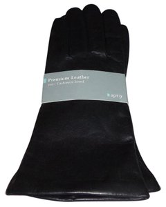 Apt. 9 NWT - $50.00 - APT. 9 Leather Gloves Cashmere Lining - Size L
