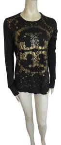 Tory Burch Top black gold