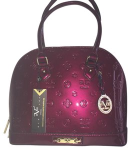 Versace Satchel in Wine