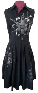 Samantha Sung Silk Party Cocktail Dinner Dress