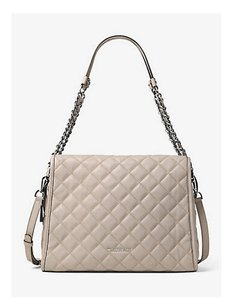 Michael Kors Satchel in CEMENT SILVER TONE