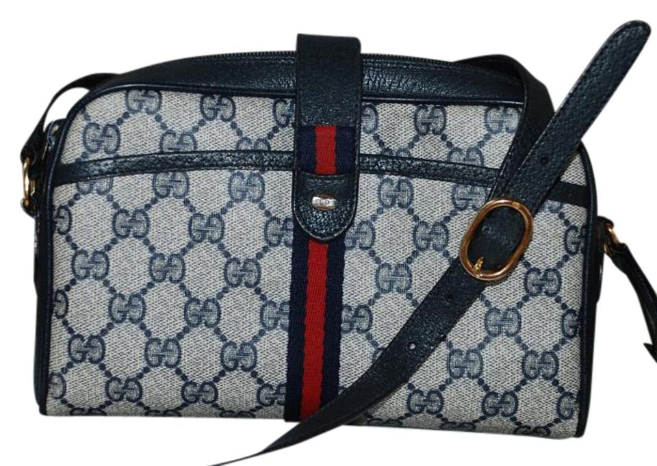 e221160a315 Gucci Accessory Collection Made In Italy Monogram Vintage Leather Cross  Body Bag Image 0 ...