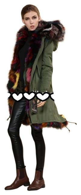 Preload https://img-static.tradesy.com/item/2017336/meifng-fur-coat-multicolor-2017336-0-0-650-650.jpg