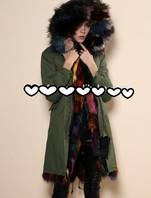 MEIFNG Fur Coat Image 3