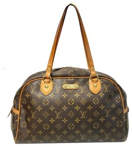 Louis Vuitton Motorguril Tote in Brown