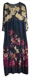 Blue Maxi Dress by Other Vintage