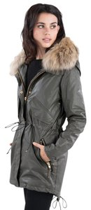 Fur Parka Sam Jacket Raincoat