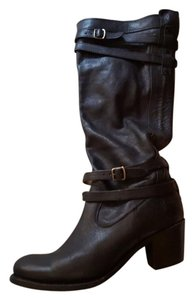 Frye Work Casual Black Boots