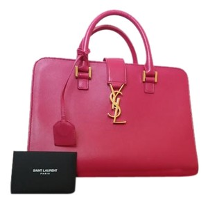Saint Laurent Satchel in Pink