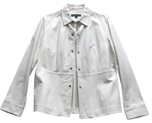 Siena Studio Soft White Leather Jacket