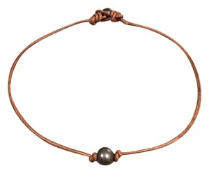 Other Single Tahitian Pearl Necklace