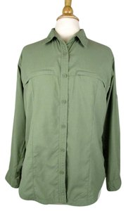 Columbia Button Down Shirt Green