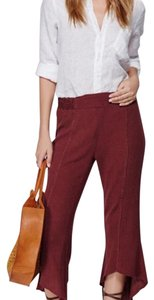 Free People Flare Pants Fig