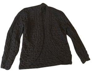 Lafayette 148 New York Cardigan Cable Knit Longsleeve Sweater