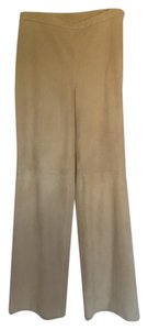 Carlisle Flare Pants Beige Snakeskin with Gold trim