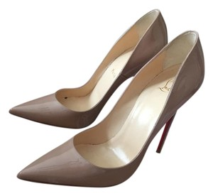 Christian Louboutin New With Tags Dust Bag Reciept Box Barneys New York Nude Pumps