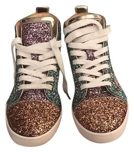 Christian Louboutin Glitter Athletic