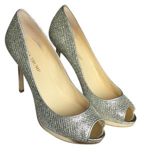 Ivanka Trump Gold texture Platforms