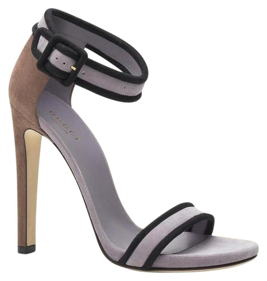 03fadf47a58 Gucci Lilac New Suede W Ankle Strap Eu 39  311379 5370 Sandals. Size  US 9  Regular (M ...