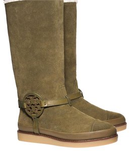 Tory Burch Olive Boots