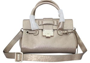 Jimmy Choo Rosalie Glitter Leather Shoulder Bag