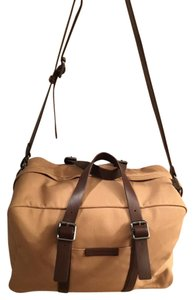 Marc by Marc Jacobs Leather Tan/ Brown Travel Bag