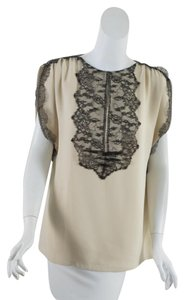Lela Rose Top Cream