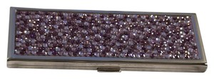 Judith Leiber Judith Leiber Real Crystals Purple Makeup Double Mirror
