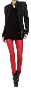 Theory Flame red Leggings