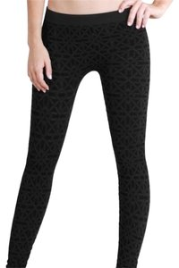 Nikibiki Snowflake Charcoal gray Leggings