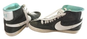 Nike Green Jcrew Sneaker Olive, ivory and sky blue Athletic