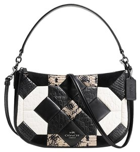 Coach Canyon Exotic Embossed Quilt 38296 Cross Body Bag