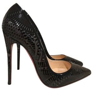 Christian Louboutin Kristali Kate Pigalle Stiletto Patent black Pumps