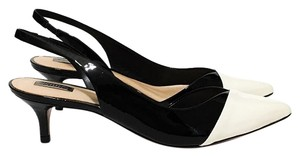 SCHUTZ Black, Pearl/Cream Pumps